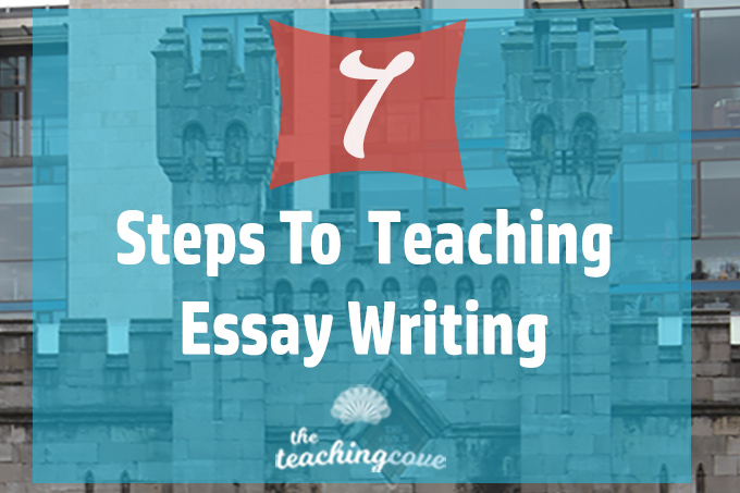 Teach writing an essay