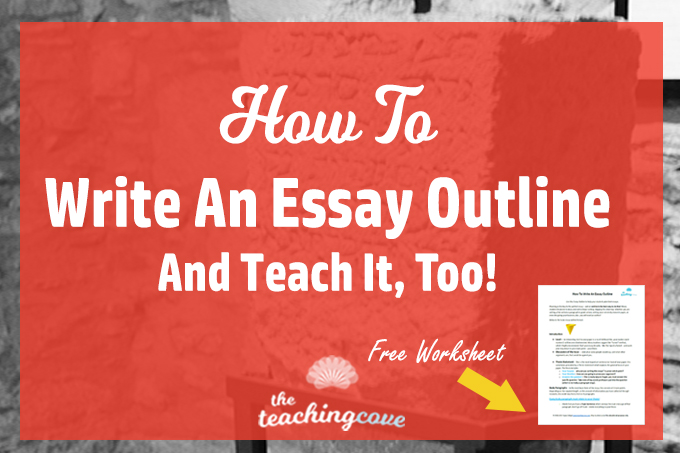 how to write and essay outline